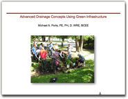 Advanced Drainage Concepts Using Green Infrastructure,