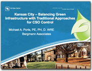 Balancing Green Infrastructure with Traditional Approaches for CSO Control, May 2009. Urban watershed Management Symposium, World Environmental and Water Resources Congress, American Society of Civil Engineers