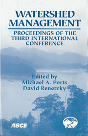 Watershed Management, December 2001. Proceedings of the Third International Watershed Management Conference, American Society of Civil Engineers,